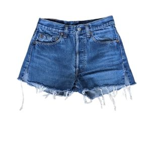 Vintage Levi's Denim Cut Off Shorts